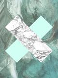 Geometric Marble X Kunstdrucke von  LILA X LOLA