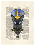 Cat Nefertiti Prints by Matt Dinniman
