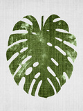 Tropical Leaf 1 Prints by  LILA X LOLA