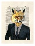 Fox Suit Prints by Matt Dinniman