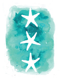 Watercolor Aqua Starfish 3 Prints by  Jetty Printables