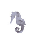 Watercolor Gray Seahorse Art by  Jetty Printables