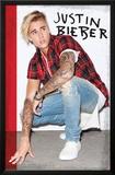 Justin Bieber- Flannel Prints