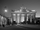 Brandenburg Gate, Berlin, Germany Photographic Print by Jon Arnold