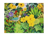Autumn Garden Giclee Print by Christopher Ryland