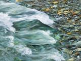 Rocks and waters of Verzasca River Metal Print by Frank Krahmer