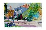 Chez Florence Giclee Print by Simon Fletcher
