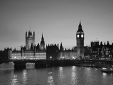 Big Ben and Houses of Parliament, London, England Fotografisk tryk af Jon Arnold