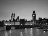 Big Ben and Houses of Parliament, London, England Fotodruck von Jon Arnold