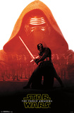 Star Wars Force Awakens - Kylo Ren Badge Posters