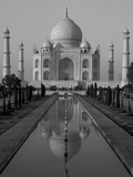 Taj Mahal, Agra, Uttar Pradesh, India Papier Photo par Peter Oxford