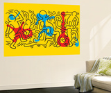 Untitled Pop Art Adesivo murale di Keith Haring
