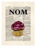 Nom Cupcake Posters by Matt Dinniman