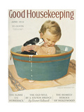 Good Housekeeping, June, 1932 Metal Print