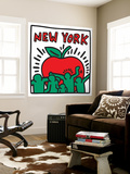 Untitled Pop Art Reproduction murale par Keith Haring