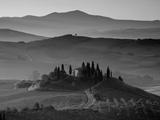 Granja, Valle de Orcia, Toscana, Italia Lámina fotográfica por Doug Pearson