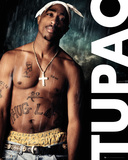 Tupac- In The Rain Posters