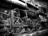 Train Strain Fotodruck von Stephen Arens