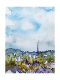 Toward Crystal Palace Giclee Print by Margaret Coxall