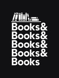 Books - Book Nerd Helvetica Typography Posters af  Boots