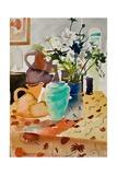 Anemones Japonaises Giclee Print by Simon Fletcher