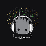 I Am - Cute Groot Print by  Boots