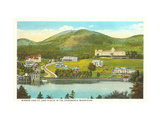 Mirror Lake, Lake Placid, New York Metal Print