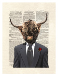 Highlandbull Man Prints by Matt Dinniman