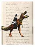 Lincoln T Rex Prints by Matt Dinniman