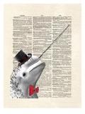 Narwhal Dandy Prints by Matt Dinniman