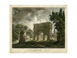 Constantine's Arch Metal Print by  Merigot