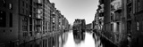 Germany, Hamburg, Warehouses and New Apartments in the Converted Speichrstadt District Fotografisk trykk av Michele Falzone