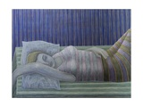 To Sleep, Perchance to Dream (Stripes), 2014 Giclee Print by Ruth Addinall