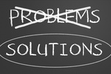 Problem And Solution Concept Metal Print by  IJdema