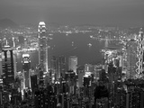 View over Hong Kong from Victoria Peak Photographic Print by Andrew Watson