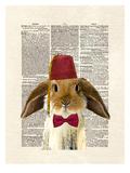 Lop Bunny Art par Matt Dinniman