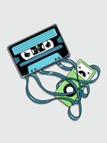 The Comeback - Cassette Tape Attacking iPod Prints by  Boots