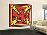 Untitled Pop Art Fototapete – groß von Keith Haring