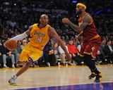 Cleveland Cavaliers v Los Angeles Lakers Photo af Juan Ocampo
