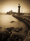 Rhodes Town, Rhodes, Greece Metal Print by Doug Pearson