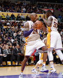 Indiana Pacers v Los Angeles Lakers Photo by Andrew D Bernstein