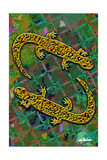 (Florida Is…) Salamanders Giclee Print by Xavier Cortada