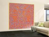 Untitled Pop Art Vægplakat, stor af Keith Haring