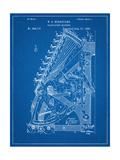 Vintage 1888 Calculator Patent Metal Print