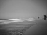 Golden Beach Landscape Fotografiskt tryck av Jan Lakey