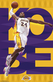 Los Angeles Lakers - Kobe Bryant 2015 Prints