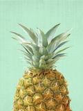 Peek A Boo Pineapple Plakat af LILA X LOLA