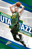 Utah Jazz - Gordon Hayward 2015 Posters