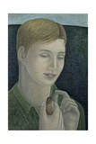 The Young Francis (Boy Holding Bird), 2015 Giclee Print by Ruth Addinall