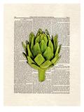Artichoke Posters by Matt Dinniman